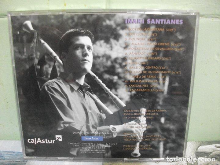 CDs de Música: IÑAKI SANTIANES FONCALADA CD ALBUM FONO ASTUR ASTURIAS PEPETO - Foto 2 - 159899150