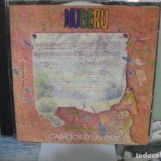 CDs de Música: NUBERU CANCIOS D'UN PAÍS CD ALBUM 1981 FONOMUSIC / 2004 DRO ASTURIAS. Lote 159900274