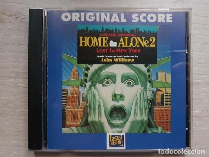 HOME ALONE 2 - JOHN WILLIAMS - CD - B.S.O. RARO (Música - CD's Bandas Sonoras)