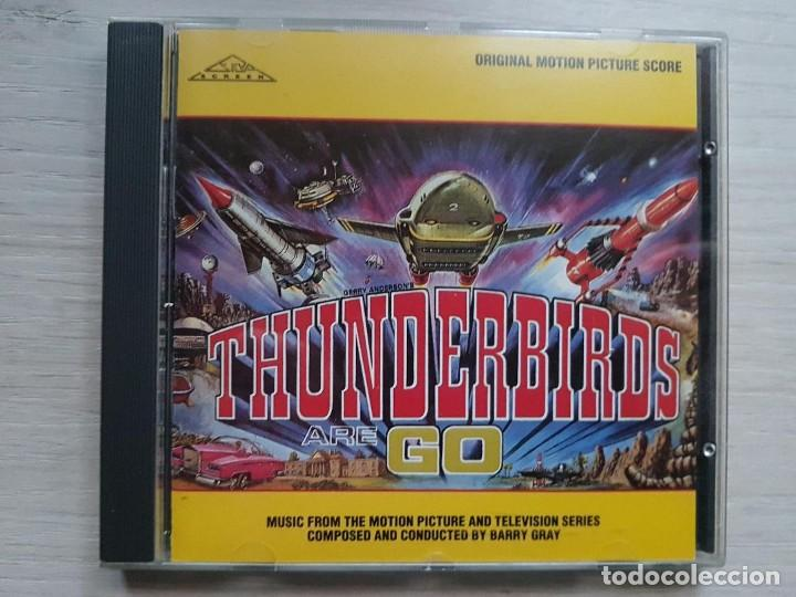 THUNDERBIRDS ARE GO - BARRY GRAY - CD - B.S.O. RARO (Música - CD's Bandas Sonoras)