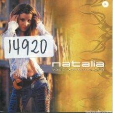 CDs de Música: NATALIA / VAS A VOLVERME LOCA (CD SINGLE CARTON PROMO 2002). Lote 288985093