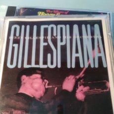 CDs de Música: DIZZY GILLESPIE – GILLESPIANA. Lote 159943650