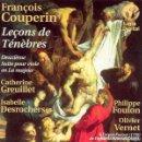 CDs de Música: FRANÇOIS COUPERIN - LEÇONS DE TÉNÈBRES (CD) OLIVIER VERNET . Lote 159995534