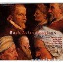 CDs de Música: BACH - ACTUS TRAGICUS (CD) RICERCAR CONSORT, PHILIPPE PIERLOT. Lote 159996342