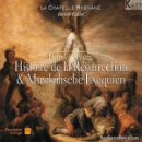 CDs de Música: HEINRICH SCHUTZ - HISTOIRE DE LA RÉSURRECTION & MUSIKALISCHE EXEQUIEN (CD) LA CHAPELLE RHÉNANE. Lote 159996762