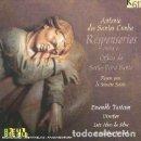 CDs de Música: ANTONIO DOS SANTOS CUNHA - RESPONSORIOS PARA O OFFICIO DA SEXTA-FEIRA SANTA (CD) ENSEMBLE TURICUM. Lote 159997306