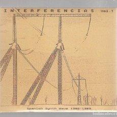 CDs de Música: INTERFERENCIAS VOL. 1- SPANISH SYNTH WAVE 1980-1989 (CD DIGIPAK 2018, MUNSTER MRCD 377) PRECINTADO. Lote 160007674