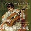 CDs de Música: VARIOS COMPOSITORES - SPAIN THROUGH STRINGS (CD) ZEMLINSKY QUARTET. Lote 160009054