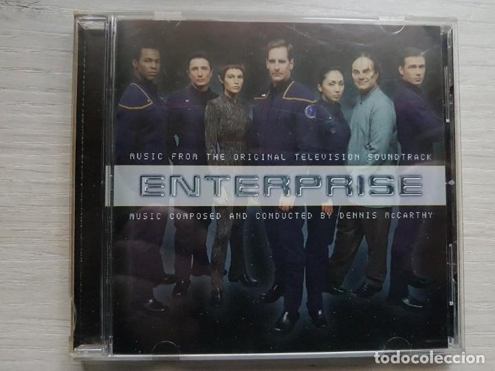 ENTERPRISE - MUSIC FROM THE ORIGINAL TELEVISION SOUNDTRACK - B.S.O. -MUSIC COMPOSED DENNIS MCCARTHY (Música - CD's Bandas Sonoras)