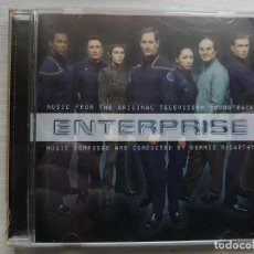 CDs de Música: ENTERPRISE - MUSIC FROM THE ORIGINAL TELEVISION SOUNDTRACK - B.S.O. -MUSIC COMPOSED DENNIS MCCARTHY. Lote 160010106