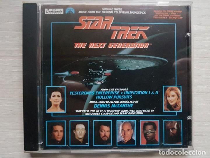 CDs de Música: STAR TREK - MUSIC FROM THE ORIGINAL TELEVISION SOUNDTRACK-B.S.O. -MUSIC COMPOSED DENNIS McCARTHY - Foto 1 - 160010938