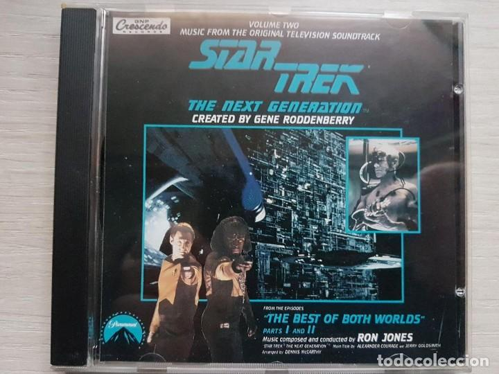 STAR TREK - MUSIC FROM THE ORIGINAL TELEVISION SOUNDTRACK-B.S.O. -MUSIC COMPOSED BY RON JONES (Música - CD's Bandas Sonoras)