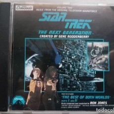 CDs de Música: STAR TREK - MUSIC FROM THE ORIGINAL TELEVISION SOUNDTRACK-B.S.O. -MUSIC COMPOSED BY RON JONES. Lote 160011382