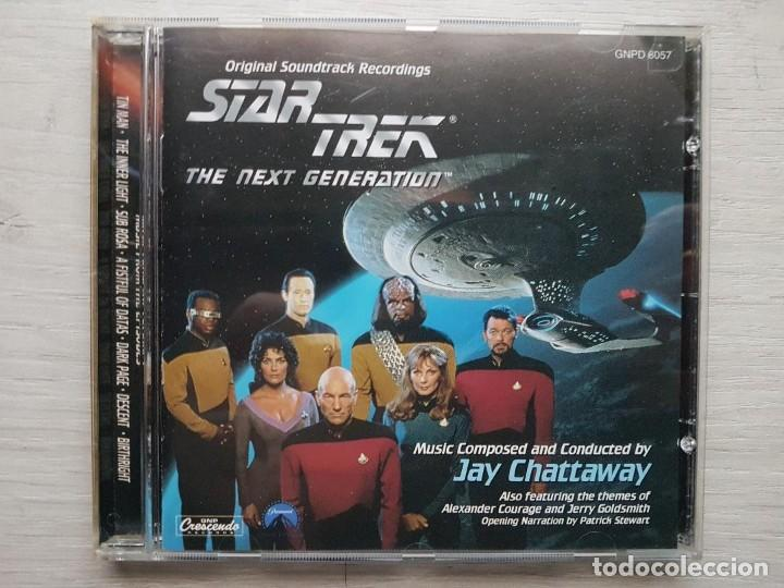 STAR TREK - MUSIC FROM THE ORIGINAL TELEVISION SOUNDTRACK-B.S.O. -MUSIC COMPOSED DENNIS MCCARTHY (Música - CD's Bandas Sonoras)