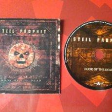CDs de Música: STEEL PROPHET - CD PROMOCIONAL BOOK OF THE DEAD (HEAVY METAL). Lote 160012568