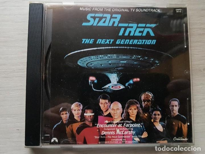 STAR TREK - MUSIC FROM THE ORIGINAL TELEVISION SOUNDTRACK-B.S.O. -MUSIC COMPOSED JAY CHATTAWAY (Música - CD's Bandas Sonoras)