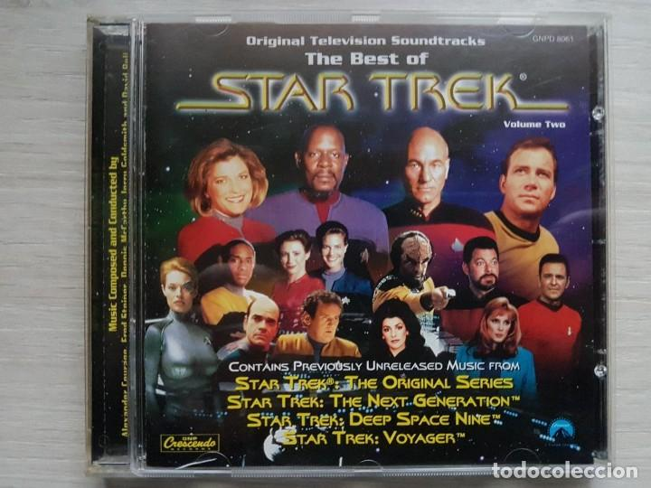 THE BEST OF STAR TREK - MUSIC FROM THE ORIGINAL TELEVISION SOUNDTRACK - B.S.O. - VARIOS (Música - CD's Bandas Sonoras)