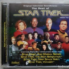CDs de Música: THE BEST OF STAR TREK - MUSIC FROM THE ORIGINAL TELEVISION SOUNDTRACK - B.S.O. - VARIOS. Lote 160013866