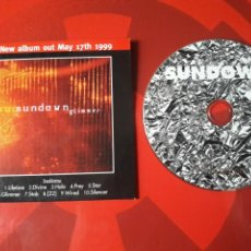 CDs de Música: SUNDOWN - CD PROMOCIONAL GLIMMER (DOOM METAL, INDUSTRIAL, GOTH ROCK) 1999. Lote 160014005