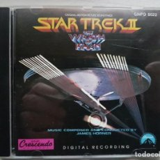 CDs de Música: STAR TREK II - MUSIC FROM THE ORIGINAL MOTION PICTURE SOUNDTRACK - B.S.O. - JAMES HORNER. Lote 160014610