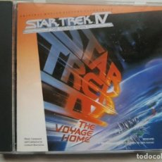 CDs de Música: STAR TREK IV - MUSIC FROM THE ORIGINAL MOTION PICTURE SOUNDTRACK - B.S.O. - LEONARD ROSERMAN. Lote 160015506