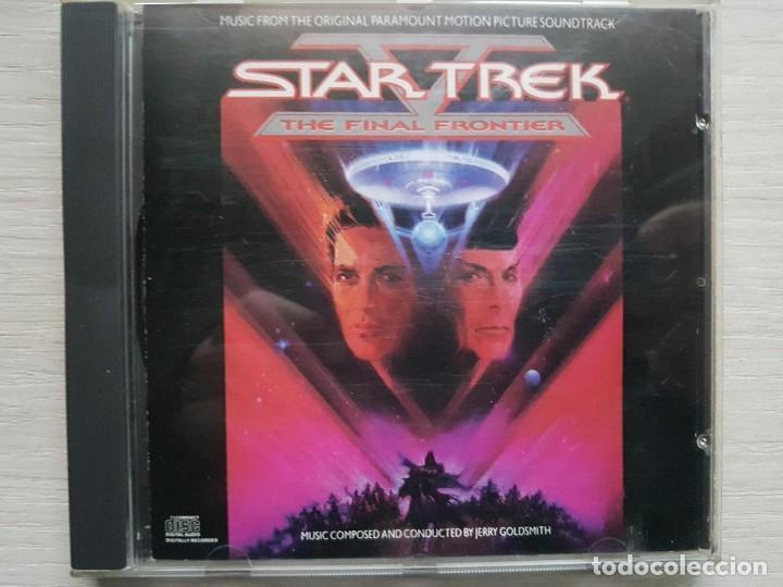 STAR TREK V - MUSIC FROM THE ORIGINAL MOTION PICTURE SOUNDTRACK - B.S.O. - JERRY GOLDSMITH (Música - CD's Bandas Sonoras)