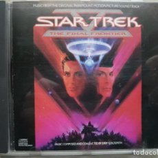 CDs de Música: STAR TREK V - MUSIC FROM THE ORIGINAL MOTION PICTURE SOUNDTRACK - B.S.O. - JERRY GOLDSMITH. Lote 160016234