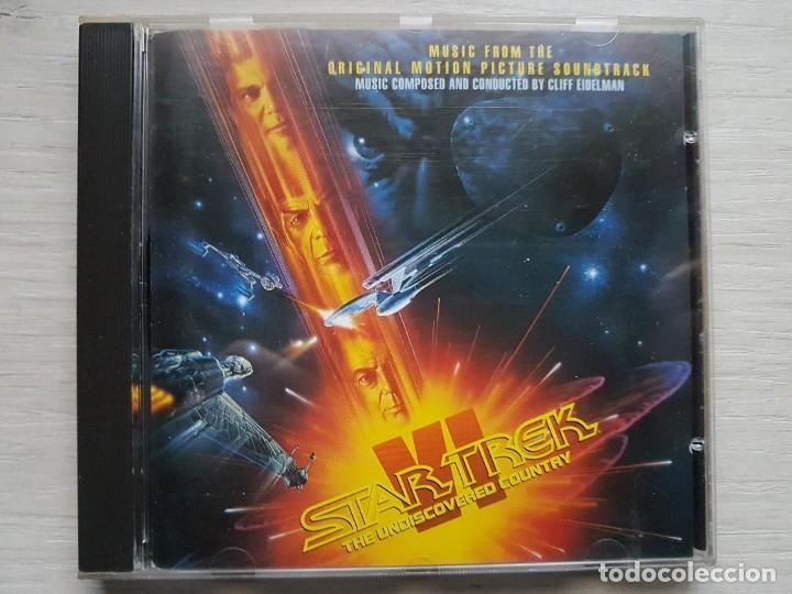 STAR TREK VI - MUSIC FROM THE ORIGINAL MOTION PICTURE SOUNDTRACK - B.S.O. - CLIFF EIDELMAN (Música - CD's Bandas Sonoras)