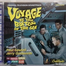 CDs de Música: VOYAGE TO THE BOTTOM OF THE SEA - ORIGINAL TV SOUNDTRACK - B.S.O. - MUSIC COMPOSED JERRY GOLDSMITH. Lote 160017990