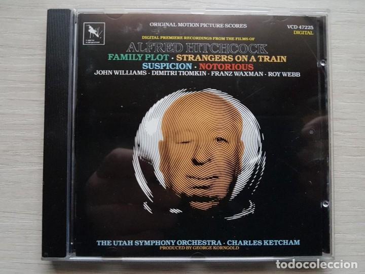 ALFRED HIITCHCOCK-ORIGINAL MOTION PICTURES SOUNDTRACK-B.S.O.-MUSIC BY JOHN WILLIAMS, DIMITRI TIOMKIN (Música - CD's Bandas Sonoras)