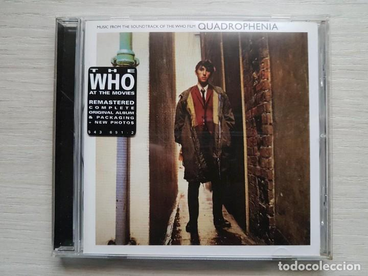 QUADROPHENIA - ORIGINAL MOTION PICTURE SOUNDTRACK - B.S.O. - MUSIC BY THE WHO AT THE MOVIES (Música - CD's Bandas Sonoras)