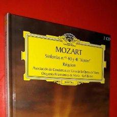 CDs de Música: MOZART - SINFONÍAS Nº 40 Y 41 'JÚPITER' - - GRAN SELECCIÓN DEUTSCHE GRAMMOPHON Nº 8 - 2 CDS + LIBRO. Lote 160030842