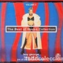 CDs de Música: VARIOUS - THE BEST OF HOUSE COLLECTION VOLUME 2 (3XCD, MIXED) LABEL:EPIC, FANTAZIA CAT#: 480907 2 . Lote 160038822
