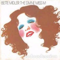 CDs de Música: BETTE MIDLER - THE DIVINE MISS M (CD, ALBUM, RE) LABEL:ATLANTIC CAT#: 7567-81420-2 . Lote 160040082