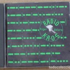 CDs de Música: ROGER WATERS - RADIO K.A.O.S. (CD) 1987 - 8 TEMAS - UK - CDP 7 46865 2 CD KAOS 1. Lote 160054286