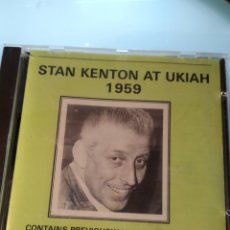 CDs de Música: STAN KENTON ‎– AT UKIAH 1959. Lote 160064698