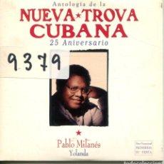 CDs de Música: PABLO MILANES / YOLANDA (CD SINGLE CARTON PROMO 1998). Lote 160071090