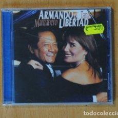 CDs de Música: ARMANDO MANZANERO / TANIA LIBERTAD - ARMANDO LA LIBERTAD - CD. Lote 160080146