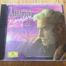 CDs de Música: ADAGIO KARAJAN II, CD. Lote 160090266