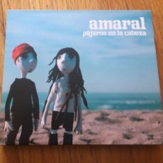 CDs de Música: AMARAL PAJAROS EN LA CABEZA, CD + DVD. Lote 160092150