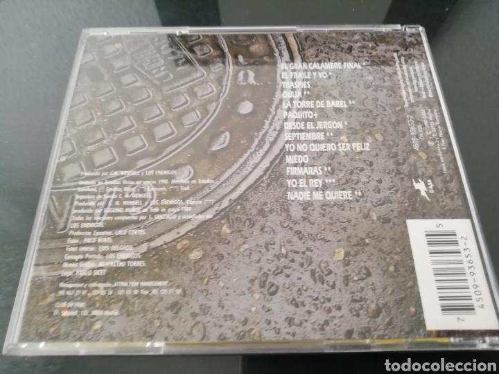 CDs de Música: Los Enemigos. La vida mata. Grabaciones Accidentales, España, 1990. - Foto 2 - 160110588