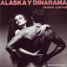 CDs de Música: ALASKA Y DINARAMA. DESEO CARNAL. HISPAVOX, SPAIN 1988.. Lote 160148134