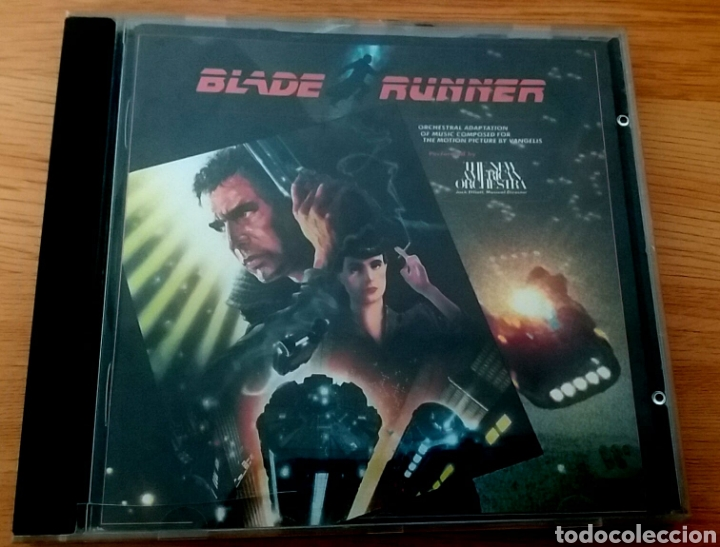 BLADE RUNNER. THE NEW AMERICAN ORCHESTRA. (Música - CD's Bandas Sonoras)