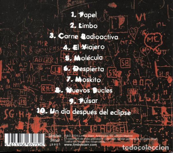 CDs de Música: PAL. Factores que afectan al equilibrio. Limbo Starr 2004, Spain. - Foto 2 - 160160538