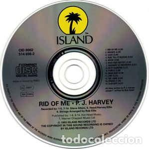 CDs de Música: P J Harvey. Rid of Me. Island Records ?– CID 8002, Island Records ?– 514 696-2. - Foto 3 - 160164274