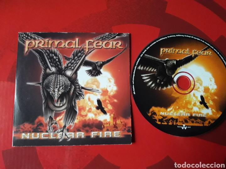 PRIMAL FEAR - CD PROMOCIONAL NUCLEAR FIRE (HEAVY METAL, POWER METAL) 2001 (Música - CD's Heavy Metal)