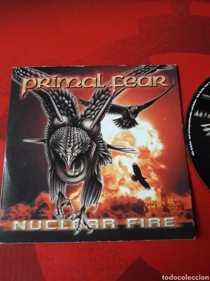 CDs de Música: Primal Fear - CD promocional Nuclear Fire (heavy metal, power metal) 2001 - Foto 2 - 160164389