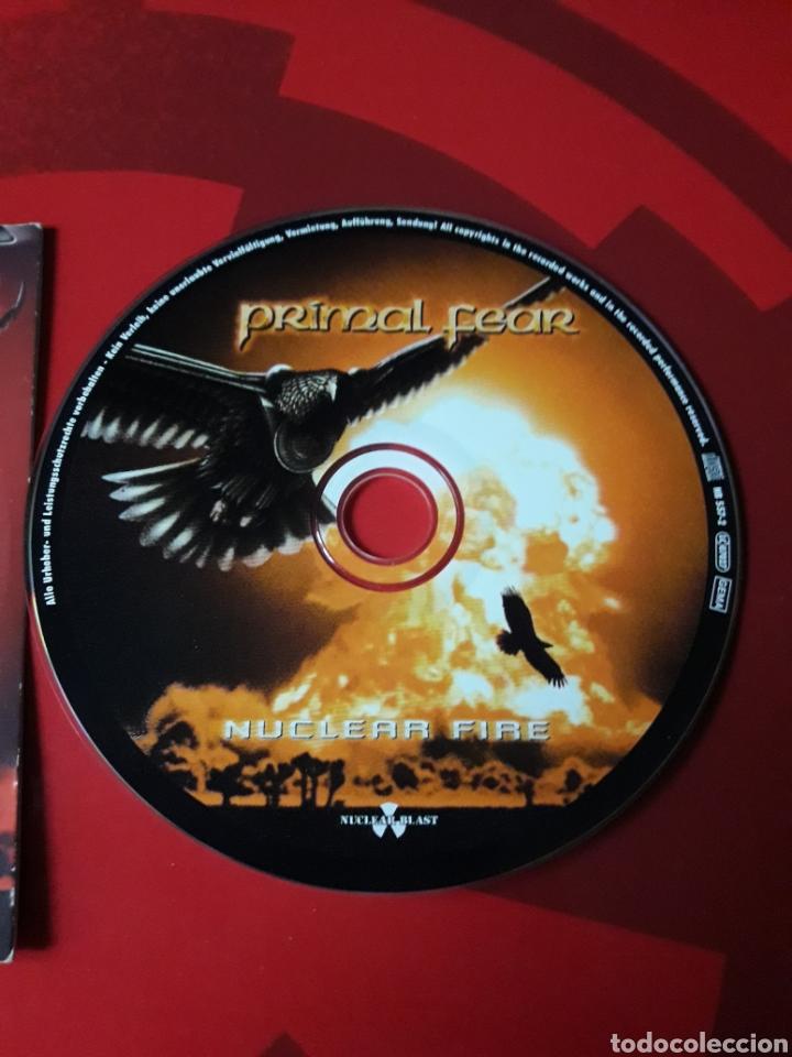 CDs de Música: Primal Fear - CD promocional Nuclear Fire (heavy metal, power metal) 2001 - Foto 3 - 160164389