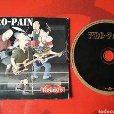 CDs de Música: PRO-PAIN - CD PROMOCIONAL ROUND 6 (THRASH, HARDCORE, HEAVY METAL) 2000. Lote 160165092