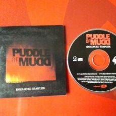 CDs de Música: PUDDLE OF MUD - CD PROMOCIONAL 3 PULGADAS ENHANCED SAMPLER (2001 ALTERNATIVE ROCK, NU METAL). Lote 160166594